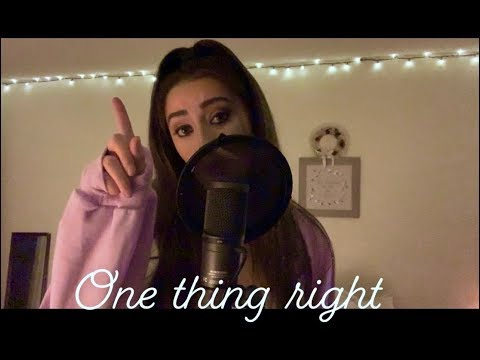 Download Lagu  Marshmello x Kane Brown - One Thing Right Cover Mp3 Free