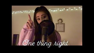 Marshmello x Kane Brown - One Thing Right (Cover)