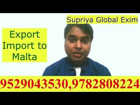 Export- Import to Malta