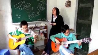 Quê hương tuổi thơ tôi (Guitar theo đúng phiên bản Mỹ Tâm)
