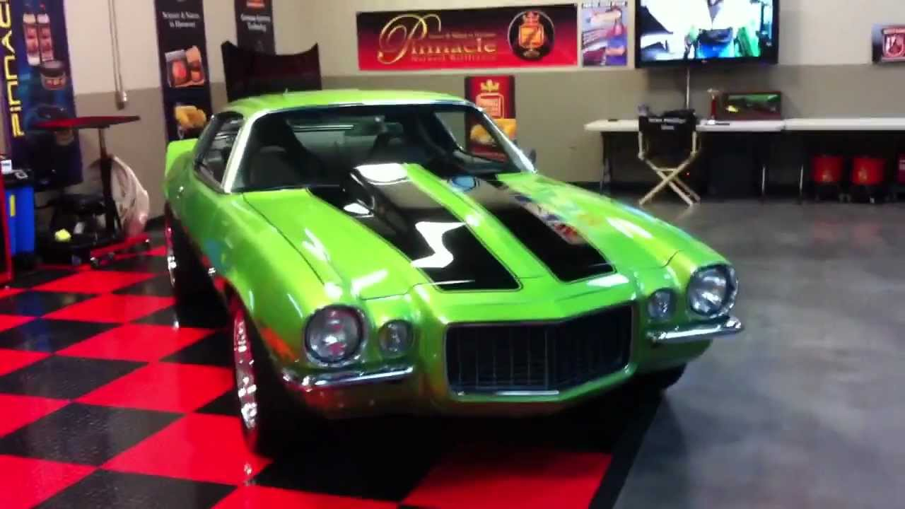 1970 1/2 Split Bumper Camaro - Show Car Finish by Machine at  AutogeekOnline net