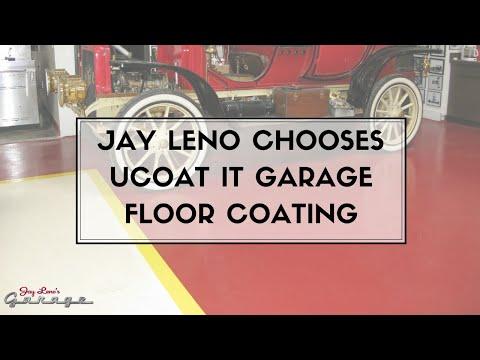 Jay Leno Chooses Ucoat It Garage Floor Coating Youtube