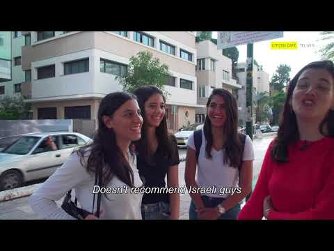 Israelis Give Advice On Dating Israelis - Part 1
