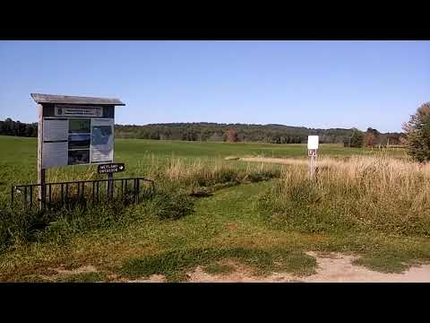 Eagle Point wildlife Management Area Vermont/ Quebec Border