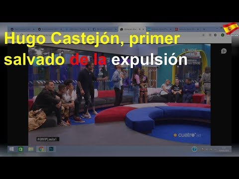 Hugo Castejón, primer salvado de la expulsión