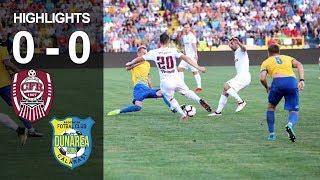 Rezumat: CFR Cluj - Dunarea Calarasi 0 - 0
