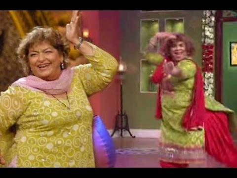 "Kiku Sharda - Reacts on ""Saroj Khan"" Act in ""Happy New Year"" | New Bollywood Movies News 2014"