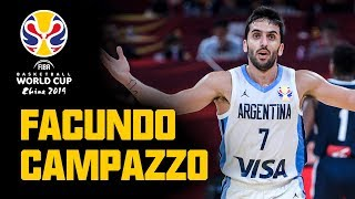Facundo Campazzo - ALL his BUCKETS & ASSISTS from the FIBA Basketball World Cup 2019