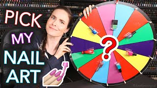 Wheel Picks My Nail Art *shocking*