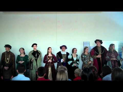 Ridgeview's Madrigal Singers perform at LCHS 12.16.12