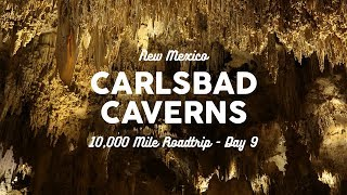 The Best Cave in the World - Carlsbad Caverns, NM | 10K Road Trip Vlog Day 9