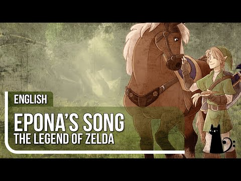 """Epona's Song"" (Ocarina of Time) Original Lyrics by Lizz Robinett"