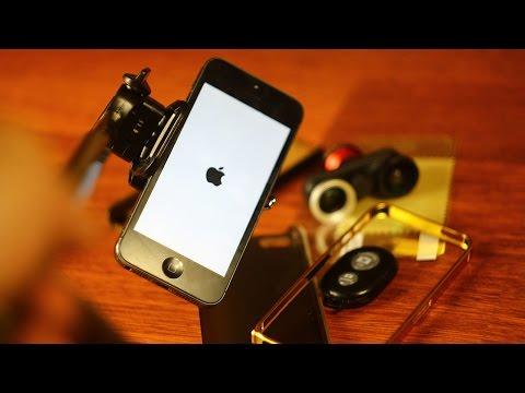 Aliexpress и аксессуары для телефонов / Apple iPhone 5 - монопод, Fisheye, кабель, чехлы, бампер.