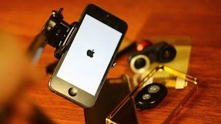 Aliexpress и аксессуары для телефонов / Apple iPhone 5 - монопод, Fisheye, кабель, чехлы, бампер.(, 2016-06-04T20:09:54.000Z)