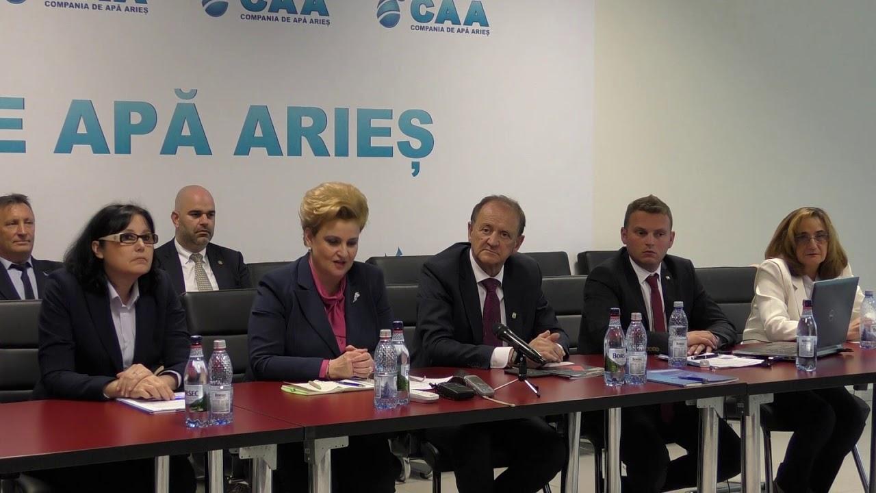 Conferință de presă CAA Turda - vizita Ministrului Mediului la Turda (06.05.2019)