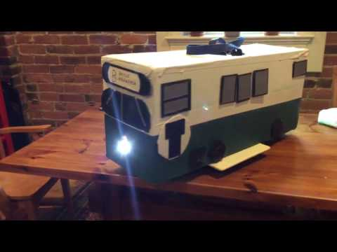 MBTA Green Line Train costume (complete)