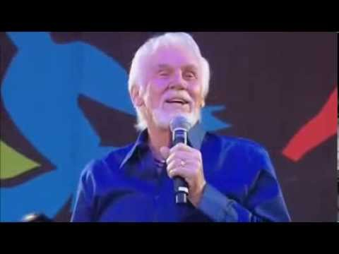Kenny Rogers- Love the world away, Live.  Subtitulos