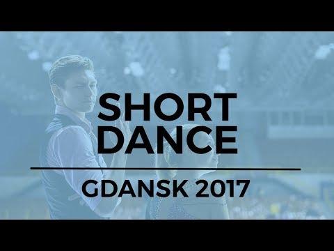 Olivia MCISAAC  Elliott GRAHAM CAN Ice Dance Short Dance  GDANSK 2017