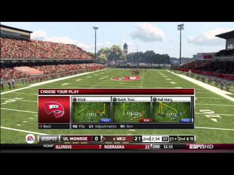 UL Monroe VS Western Kentucky Hilltoppers