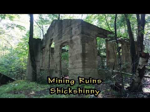 Coal Mining Ruins - Shickshinny, Pa while wandering through the woods