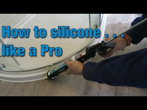 How to install & apply silicone caulk | Tutorial | Video Guide | DIY | Bathroom Hacks