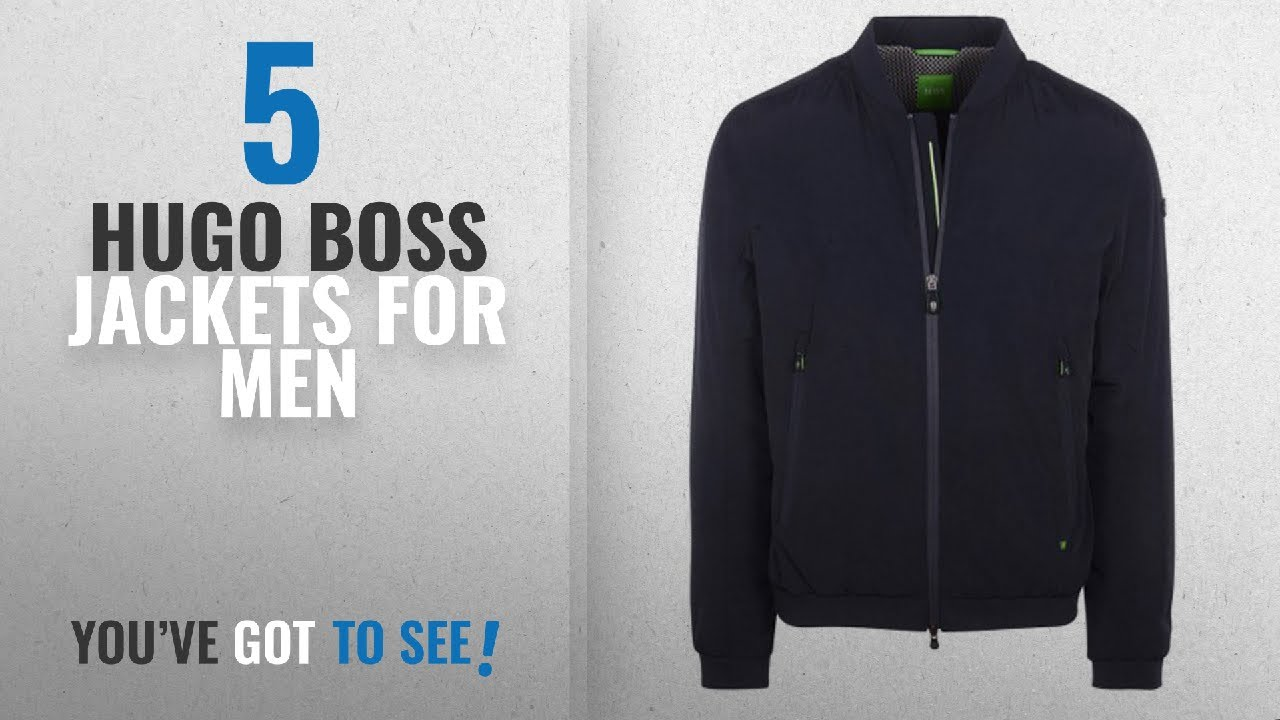 latest trends exclusive shoes new product Top 10 Hugo Boss Jackets For Men [2018]: Hugo Boss Jacket - Mens Jomber  Jacket In Blue
