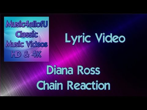 Diana Ross - Chain Reaction (RCA 12inch Vinyl) (HD Lyric Video) The Bee Gees