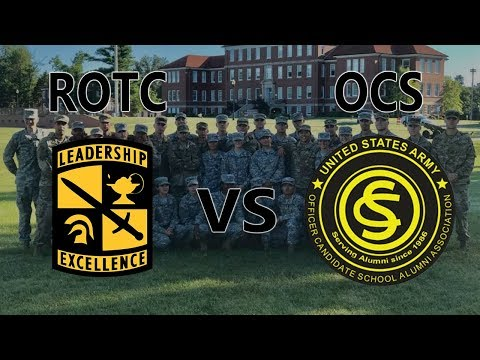 OCS vs ROTC | Which Is Better?