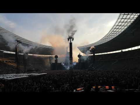 Rammstein Intro Live Konzert Olympia Stadion Berlin 2019