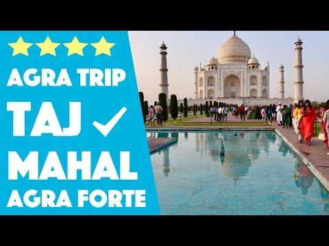 Taj Mahal and Agra Fort Trip - Road Trip to Agra From Delhi