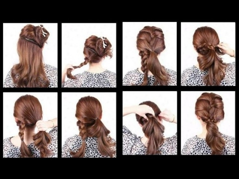 Beautiful French Braid Hairstyle Step By Step Youtube
