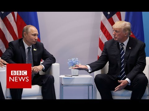 Putin to Trump: I hope our meeing brings results - BBC News