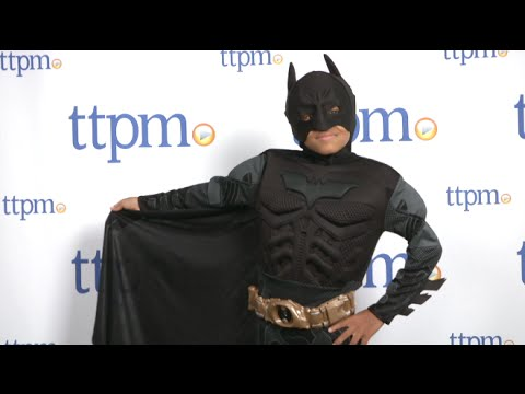 Deluxe Batman Child Costume from Rubieu0027s Costume Co. & Deluxe Batman Child Costume from Rubieu0027s Costume Co. - YouTube