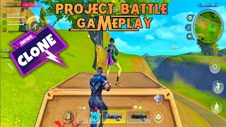 FORTNITE - PROJECT BATTLE ROYALE GAMEPLAY | Download project battle for android | Fortnite clone.