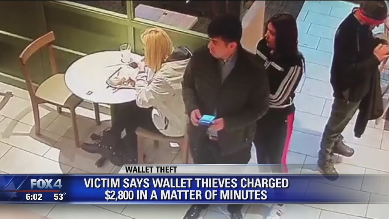 Thieves quietly steal wallet from McKinney restaurant, rack up thousands in charges