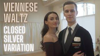 Viennese Waltz Basic Syllabus Closed Silver Variation by Iaroslav and Liliia Bieliei