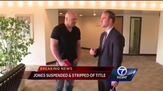 Jon Jones suspended indefinitely from UFC