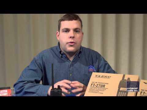 Universal Radio presents the Yaesu FT-270 Amateur Radio HT