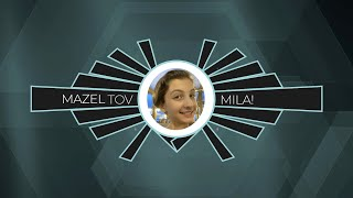 Mila's Colorful & Art Deco Bat Mitzvah Montage Snippet