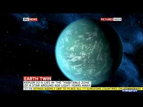 NASA  Discover New Earth Like Planet - Kepler-22b