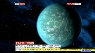 NASA  Discover New Earth Like Planet - Kepler-22b