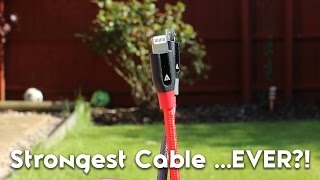 THE UNBREAKABLE LIGHTING/USB CABLE?! [Anker Powerline+ Review!]