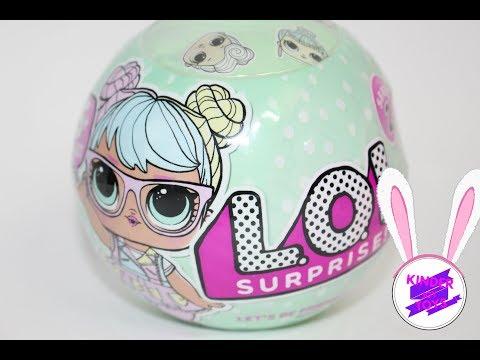 L.O.L Surprise Кукла-сюрприз в шарике ЛОЛ. Не КИТАЙСКАЯ ПОДДЕЛКА
