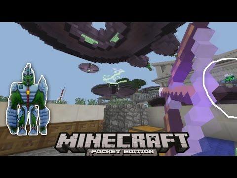 NGƯỜI NGOÀI HÀNH TINH XÂM LƯỢC TRÁI ĐẤT trong Minecraft PE l MCPE ( Pocket Edition )
