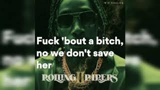 Gambar cover Wiz Khalifa - Gin and Drugs feat. Problem [Lyrics video]