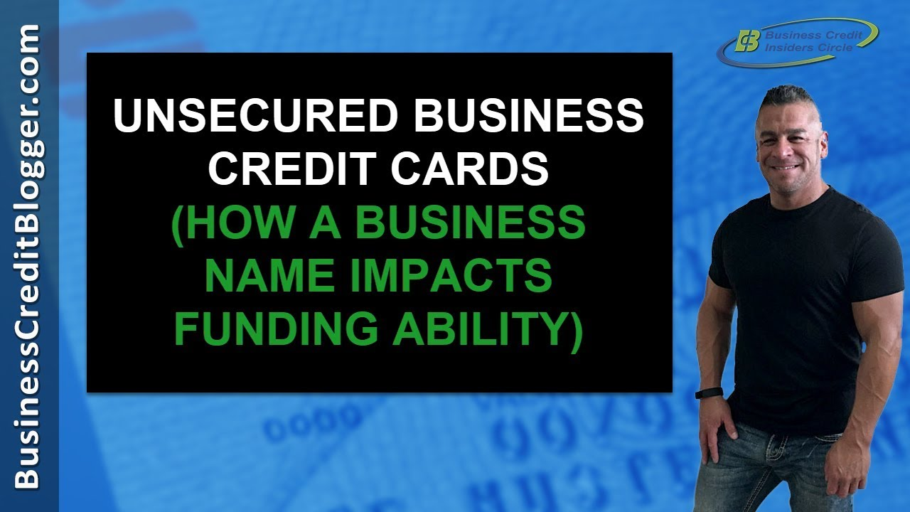 Unsecured business credit cards youtube unsecured business credit cards colourmoves