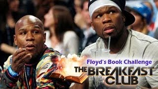 Floyd Mayweather reads on the Breakfast Club (50 Cents Reading Challenge)