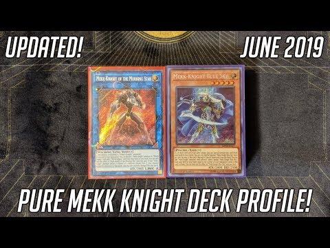 Yu-Gi-Oh! Pure Mekk Knight Deck Profile - Updated (June 2019)