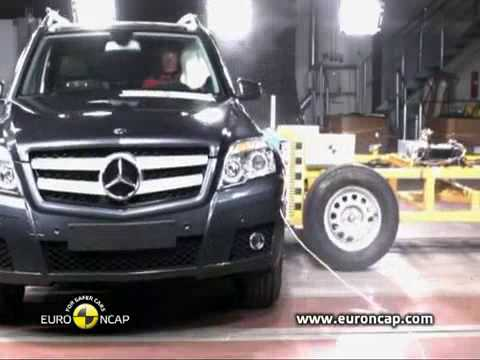 Crash Test 2009 20 Mercedes Benz Glk 220 Full Test Euroncap