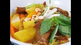 BÒ KHO - Cách nấu Bò kho ăn với Hủ tíu và Bánh mì Bò Kho by Vanh Khuyen